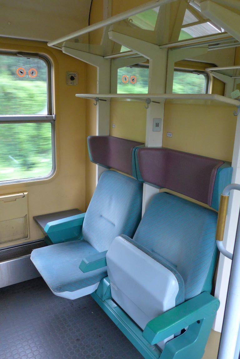 DB IR 2 Klasse Sitze
