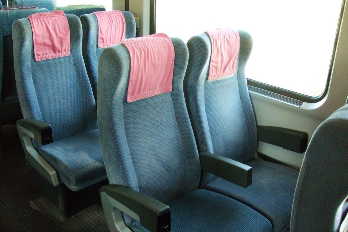 IC 2 Klasse Sitze