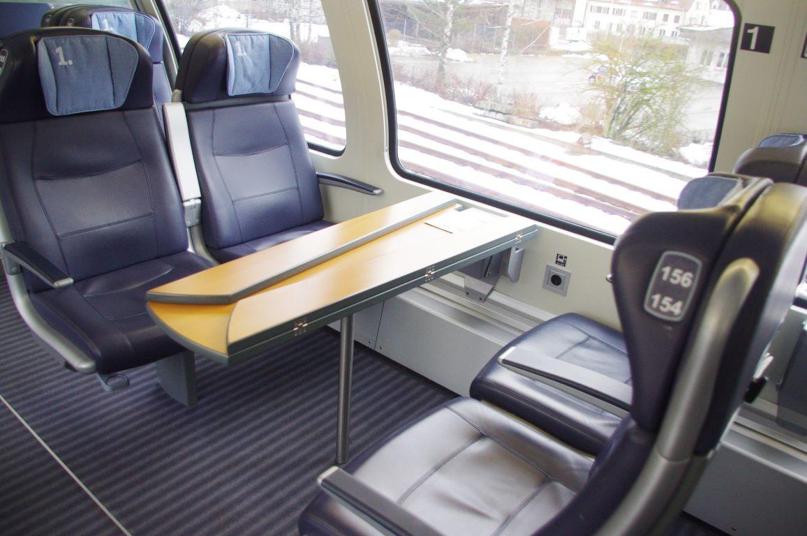IC2 1 Klasse Sitze