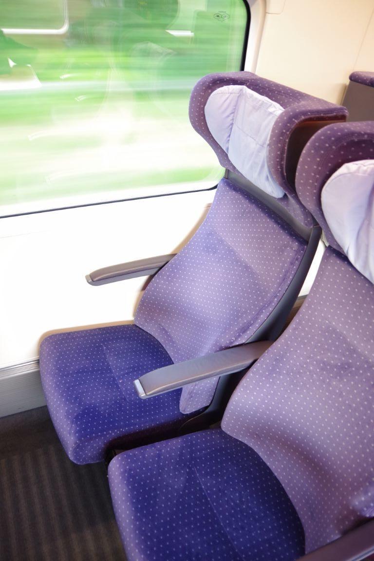ICE4 2 Klasse Sitze neu 2020